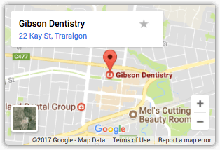 Gibson Dentistry Map